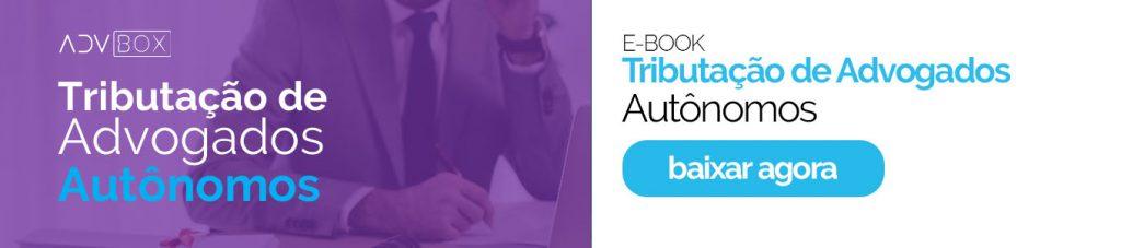 Ebook tributação de advogados autônomos