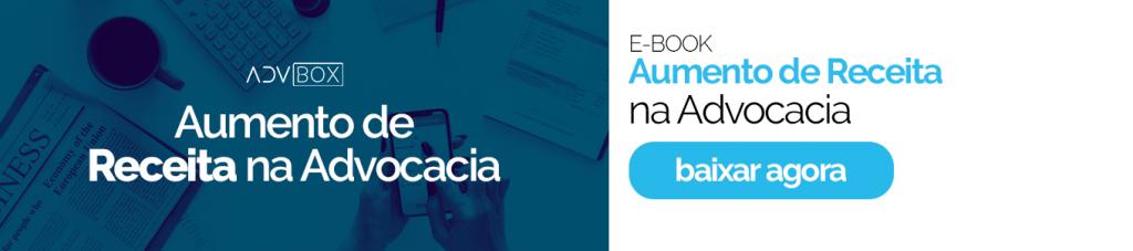 Ebook Aumento de receita na advocacia