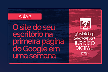 Workshop Marketing Jurídico Digital 2019 | Video 2 Software Jurídico ADVBOX