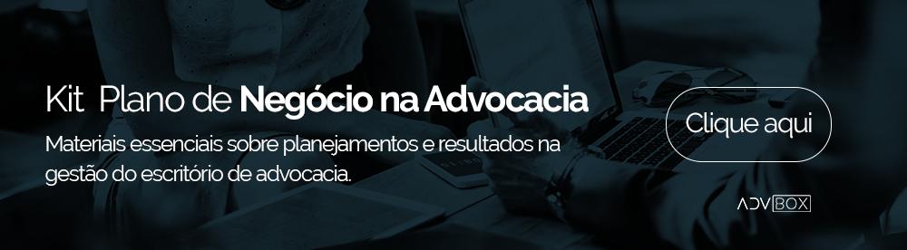 Banner para clicar e fazer download do kit plano de negócio na advocacia.